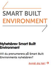 Smart Built Environments nyhetsbrev