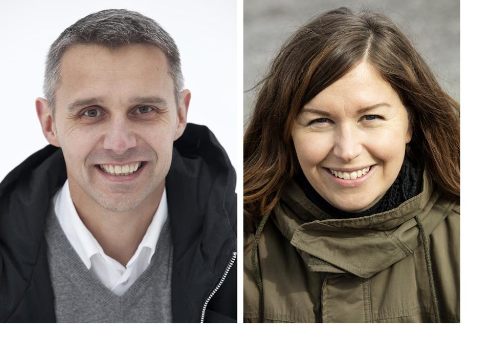 Jarkko Erikshammar och Matilda H��k